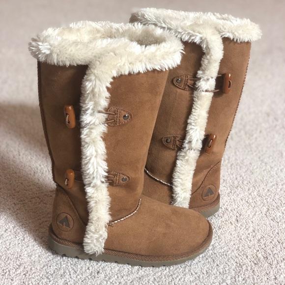 Airwalk Other - Airwalk Girls Myra Brown Boots